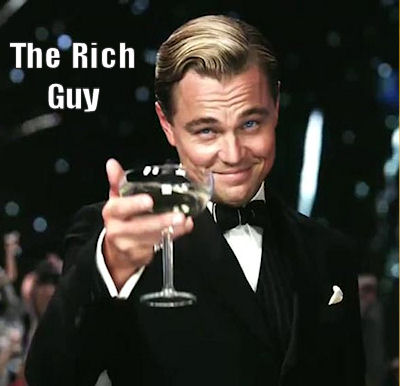 rich guys dating