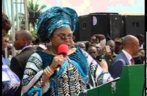 Video: First Lady Dame Patience Jonathan addresses crowd in Port Harcourt, refers to Bipi as Speaker