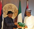 President Jonathan Presents His hand-over Notes To Buhari