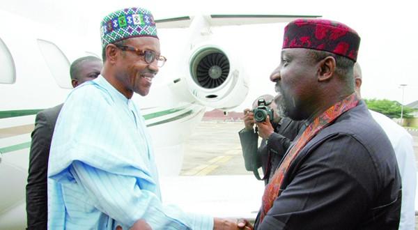 Owelle-Rochas-Okorocha-right-General-Mohammadu-Buhari