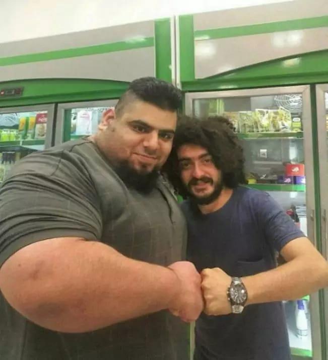 » Iranian Incredible Hulk Sajad Gharibi is 24 stone of