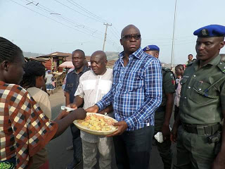 Image result for See Photos From Governor Fayose's Birthday Celebration On The Streets Of Ekiti
