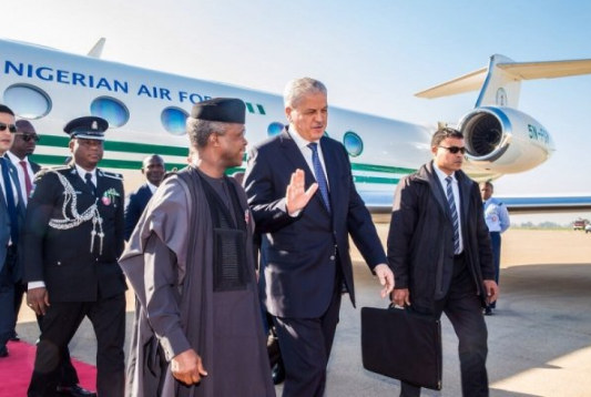 Image result for Acting President, Osinbajo, Other World Leaders At G7 Summit In Italy
