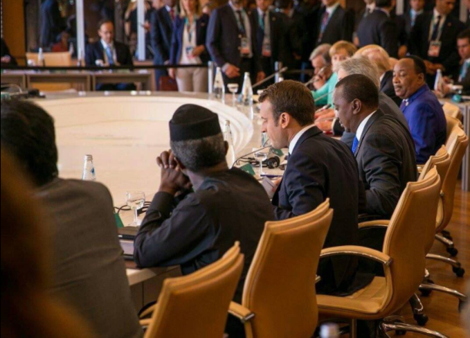 Image result for Osinbajo, Other World Leaders At G7 Summit In Italy