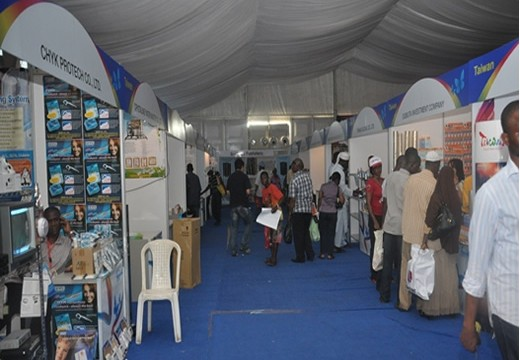 Persistent rainfall frustrates activities at Jos trade fair