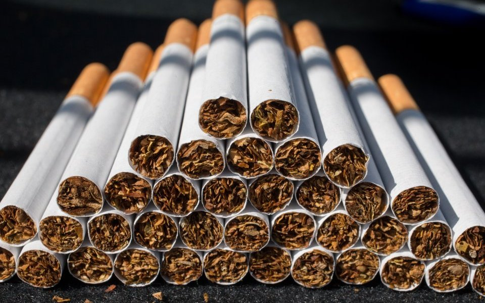 Image result for SON DESTROY CARTON OF CIGaret in kano