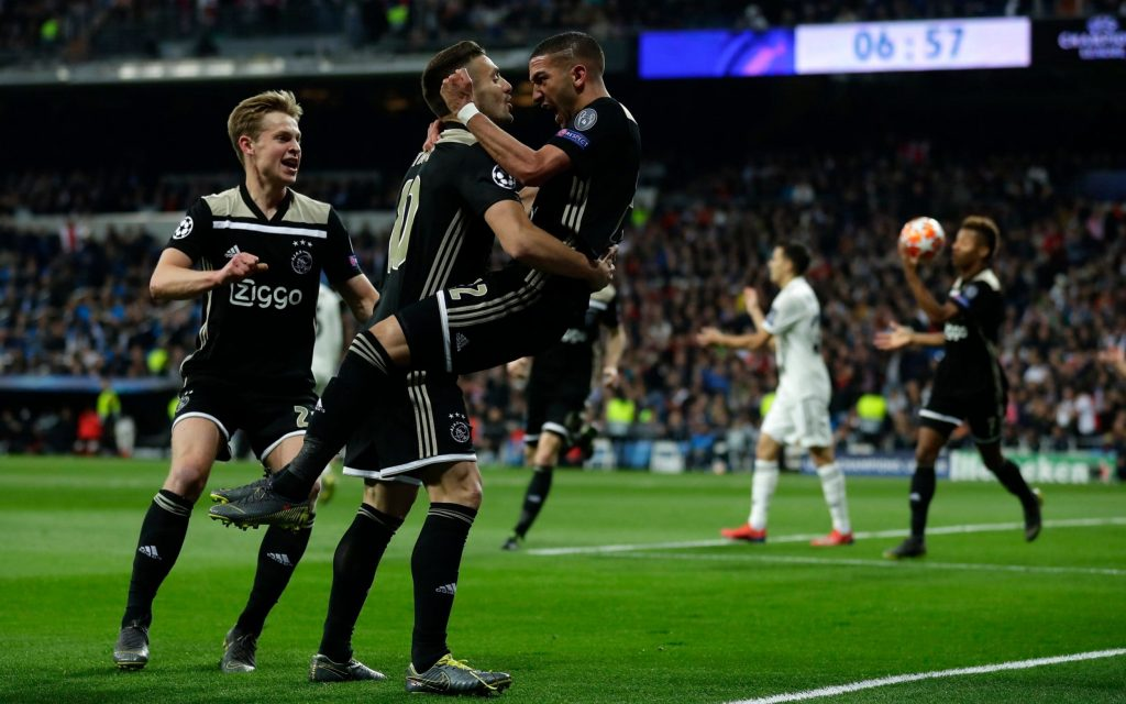 Dusan Tadic Wallpaper: Real Madrid Sensationally Knocked Out Of Champions League