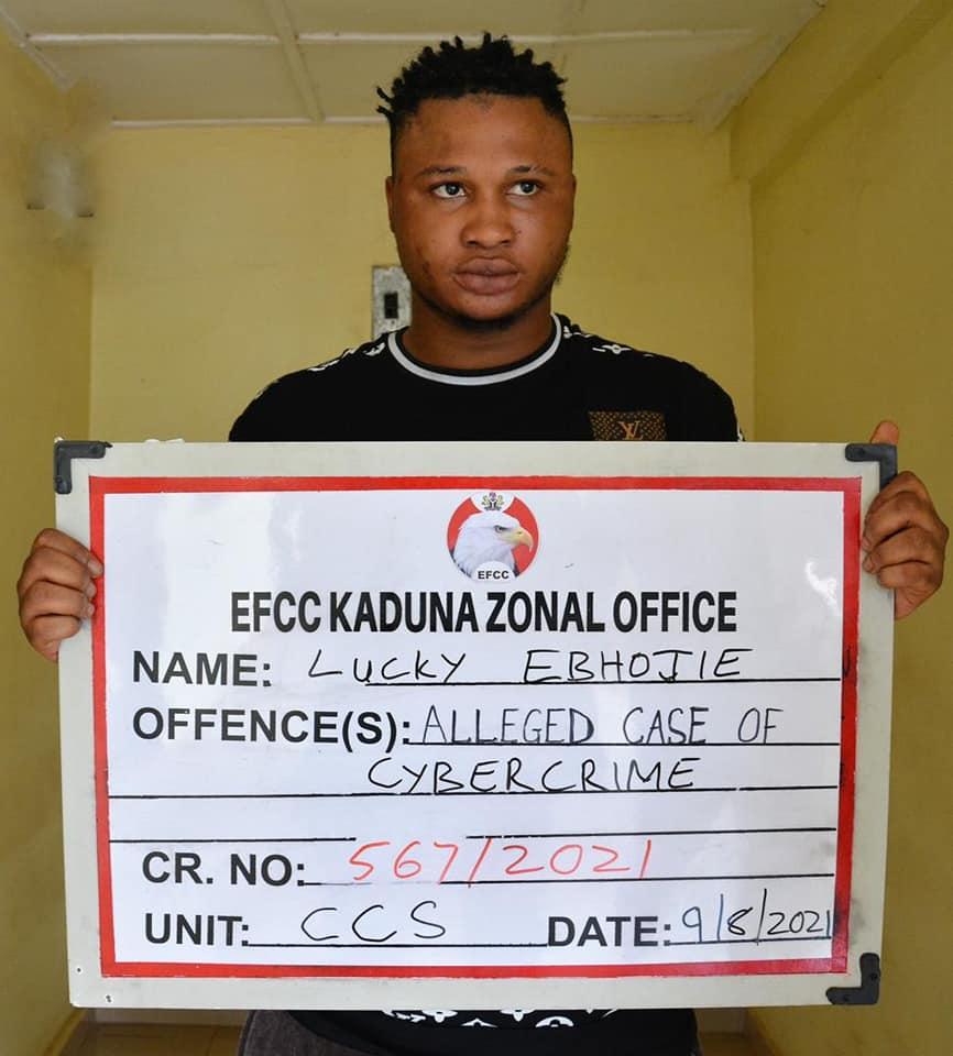 Lucky Ebhojie - EFCC
